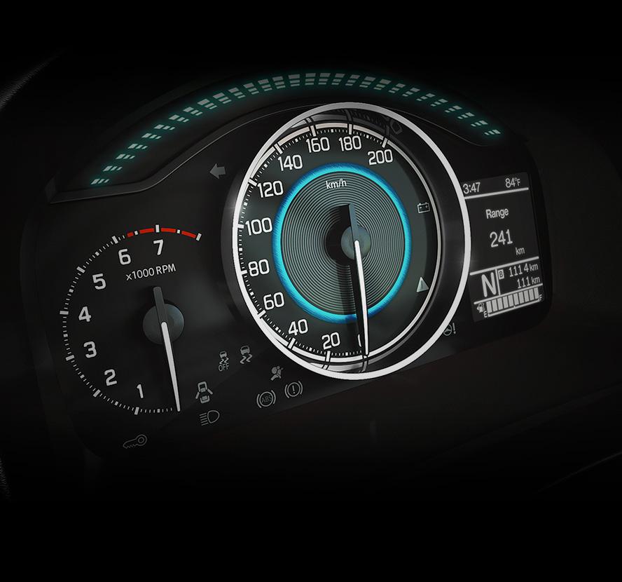 Ignis Speedo meter